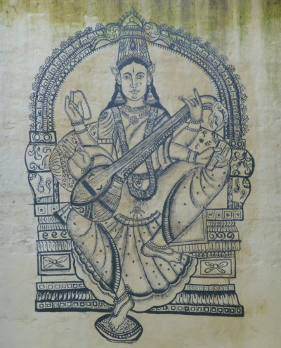 Saraswati at Tanjor (2)