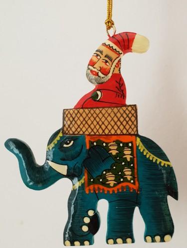 Santa elephant 1